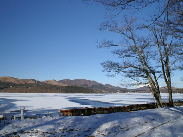 山中湖、凍ってます!_e0077521_21525792.jpg
