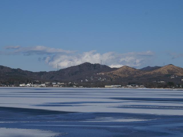 山中湖、凍ってます!_e0077521_21534848.jpg