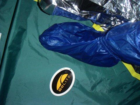 アルミ箔緊急時寝袋 / Emergency Sleeping Bag_e0024555_7403454.jpg