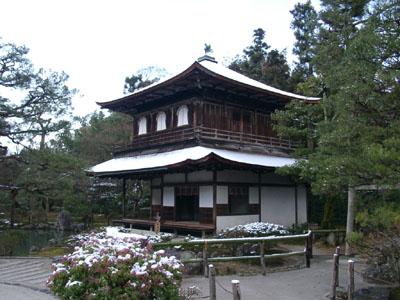 銀閣寺 雪景色_e0048413_12575918.jpg