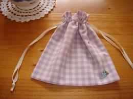 フェアリーアップルゼリーと巾着袋_e0086738_1791422.jpg