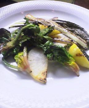 浅野さんの有機野菜のソテー 天火塩でシンプルに_f0015360_322785.jpg