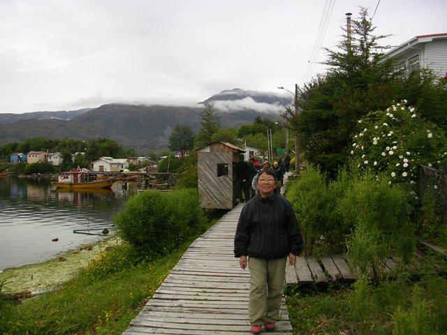 <水島夫妻のバイクの旅>  フェリーでチリを北上_c0011649_1155180.jpg