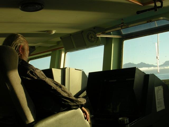 <水島夫妻のバイクの旅>  フェリーでチリを北上_c0011649_11581714.jpg
