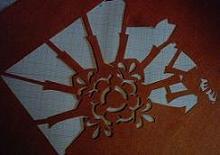 雪、そして手ぬぐいの型紙作り_a0057402_9571528.jpg