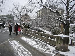 今朝雪の中。。。_c0049950_21193158.jpg