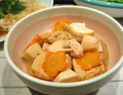 厚揚げと里芋の煮物_a0056451_19233080.jpg