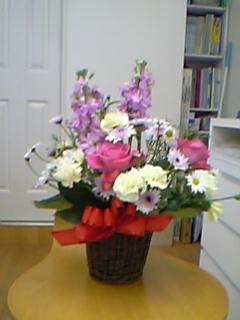 お花を頂きました。_c0049870_19241830.jpg