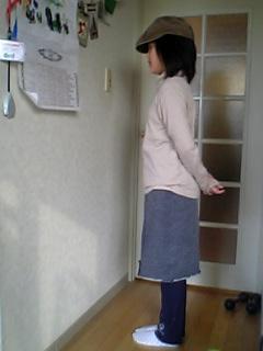 娘のスカート+スパッツ_d0024685_10244653.jpg
