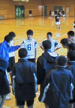 練習試合【中学男子バスケットボール】_d0010630_11451810.jpg