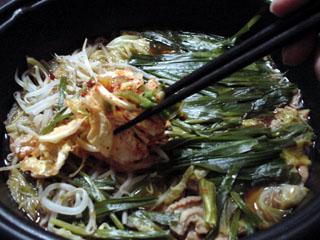牛モツキムチ鍋と酢モツ_a0016730_22515989.jpg