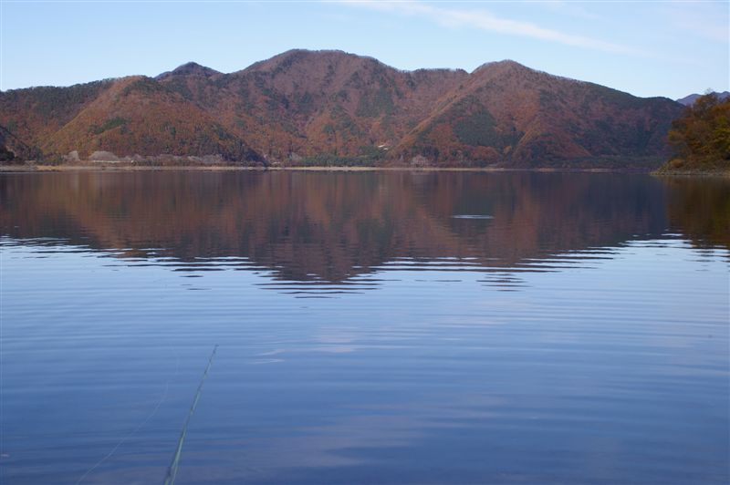 再び本栖湖だぁ!さよなら岡ちゃん。_f0064359_2145145.jpg