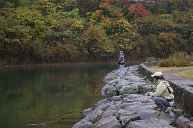 大見川水系発眼卵放流&BOSE Fishing in 松原湖_f0064359_21574080.jpg