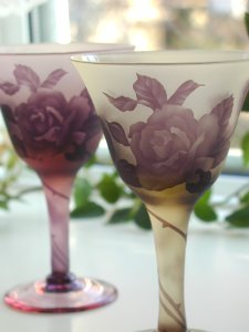 薔薇のワイングラス_f0062790_9305391.jpg