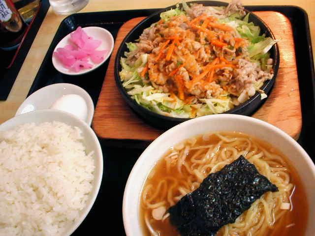 「大盛軒」の鉄板麺(@東中野)_f0064203_1559231.jpg