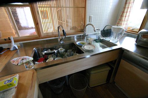 Q1札幌郊外の家10:キッチン・食堂_e0054299_13184479.jpg