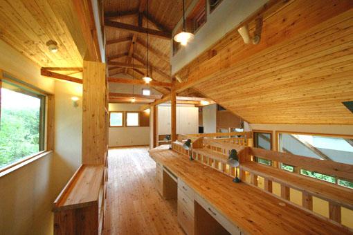 Q1札幌郊外の家11:2階家族室_e0054299_10335038.jpg