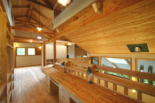 Q1札幌郊外の家11:2階家族室_e0054299_1034031.jpg