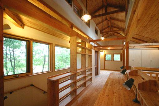 Q1札幌郊外の家11:2階家族室_e0054299_10341525.jpg