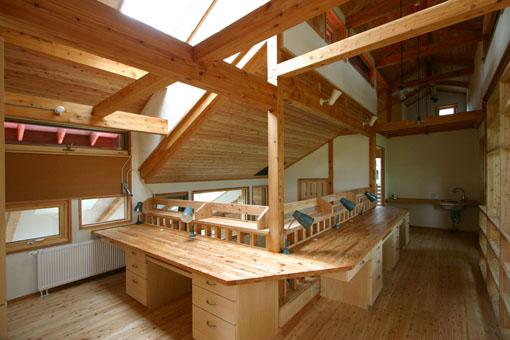 Q1札幌郊外の家11:2階家族室_e0054299_10342990.jpg