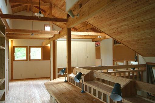 Q1札幌郊外の家11:2階家族室_e0054299_10353928.jpg