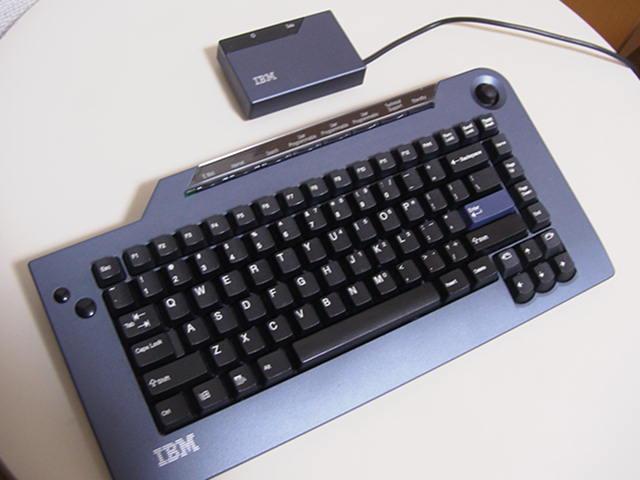 【レビュー】IBM Wireless Navigator Pro Keyboard_c0004568_18372033.jpg