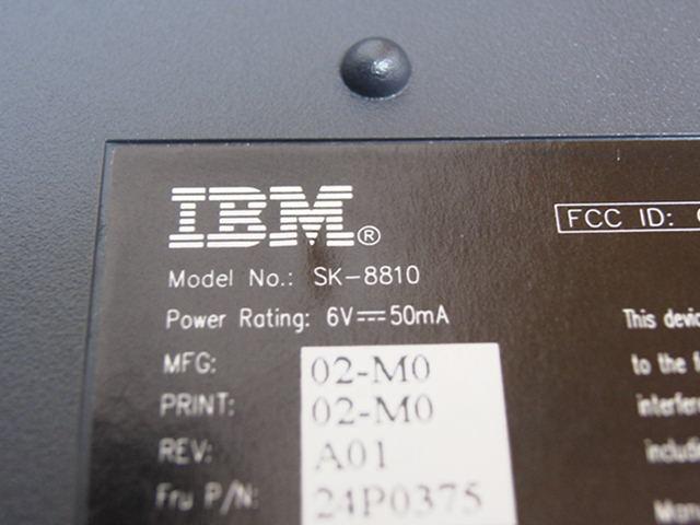 【レビュー】IBM Wireless Navigator Pro Keyboard_c0004568_18385955.jpg