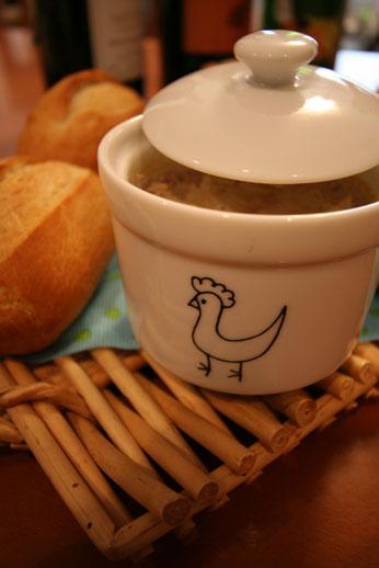 パークハイアットの鶏とフォアグラのリエット_b0048834_10585716.jpg