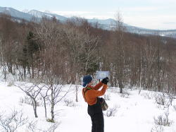 雪上ランチは最高♪_f0019247_0312338.jpg