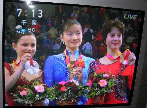 2006年2月24日荒川静香、金メダル!_f0060461_1184328.jpg