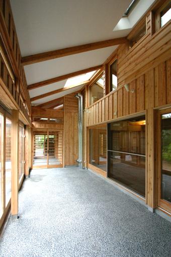 Q1札幌郊外の家16:サンルーム_e0054299_14221961.jpg