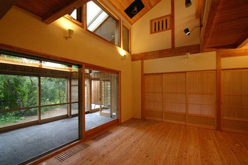 Q1札幌郊外の家16:サンルーム_e0054299_14223017.jpg