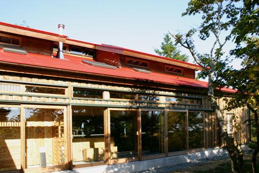 Q1札幌郊外の家16:サンルーム_e0054299_14224276.jpg