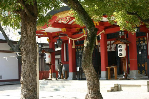 <第33番 御霊神社>_a0045381_21452799.jpg