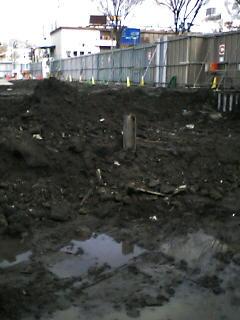 速報、旧平城の外堀から皿。_e0068696_2013630.jpg