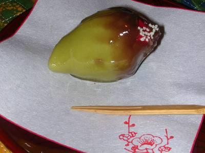 季節生菓子 (薬園台 岡埜栄泉 3)_d0065324_17485079.jpg