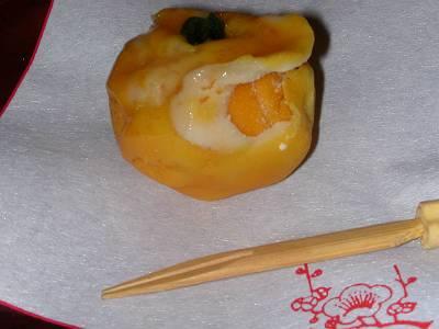 季節生菓子 (薬園台 岡埜栄泉 3)_d0065324_17492310.jpg