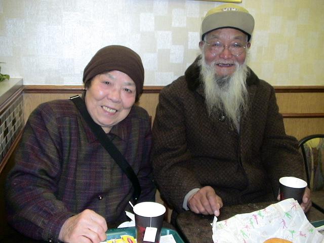 納西族老軍人李淑和二戦時的日本人女護士中村梅六十年後在日本千葉県重逢_d0027795_23154074.jpg