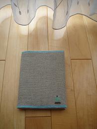 リネンテープのポーチ&ブックカバー。_e0086738_10335355.jpg