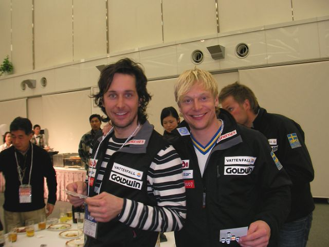 キッズレーサー&スウェーデンナショナルチーム_f0053060_21362237.jpg
