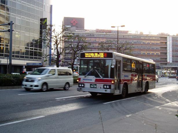 西鉄バス(博多駅→桧原営業所) : 日本毛細血管