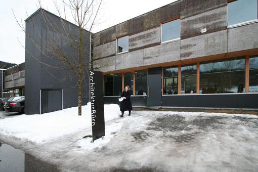 オーストリア木造建築研修02:建築家カフマンの事務所の外観_e0054299_1838111.jpg