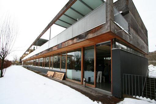 オーストリア木造建築研修02:建築家カフマンの事務所の外観_e0054299_1839472.jpg