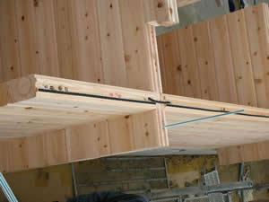 ログハウス建て方工事状況_f0073301_1518437.jpg
