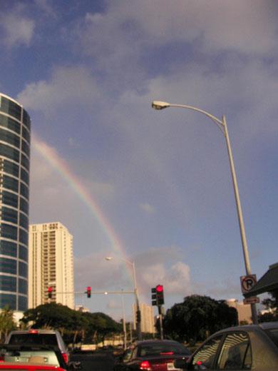 ハワイでダブルレインボーを目撃しました!_b0054054_061244.jpg