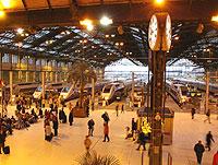 リヨン駅のレストラン、ル・トラン・ブルー_c0024345_9552766.jpg