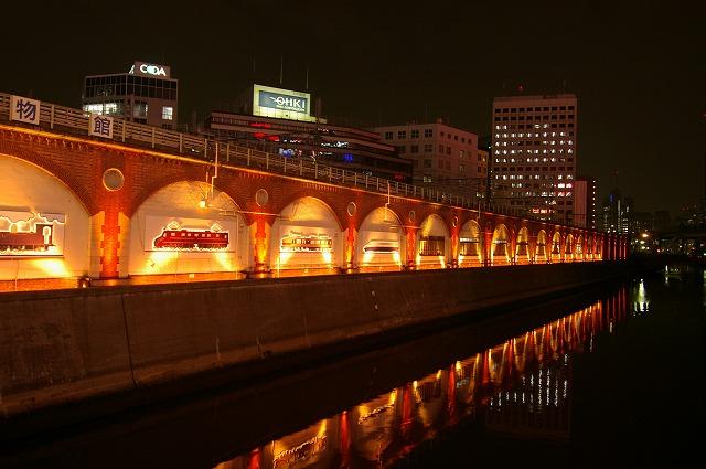 旧万世橋駅夜景~東京_d0043136_22474782.jpg