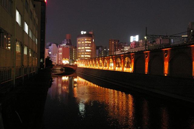 旧万世橋駅夜景~東京_d0043136_2255891.jpg