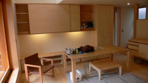 明日より東中野の家オープンハウス・・・追い込みの様子_b0014003_1830692.jpg
