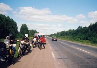 ユーラシア大陸横断 シベリア横断 (19)  イルクーツクからクラスノヤリスクへ _c0011649_9534927.jpg